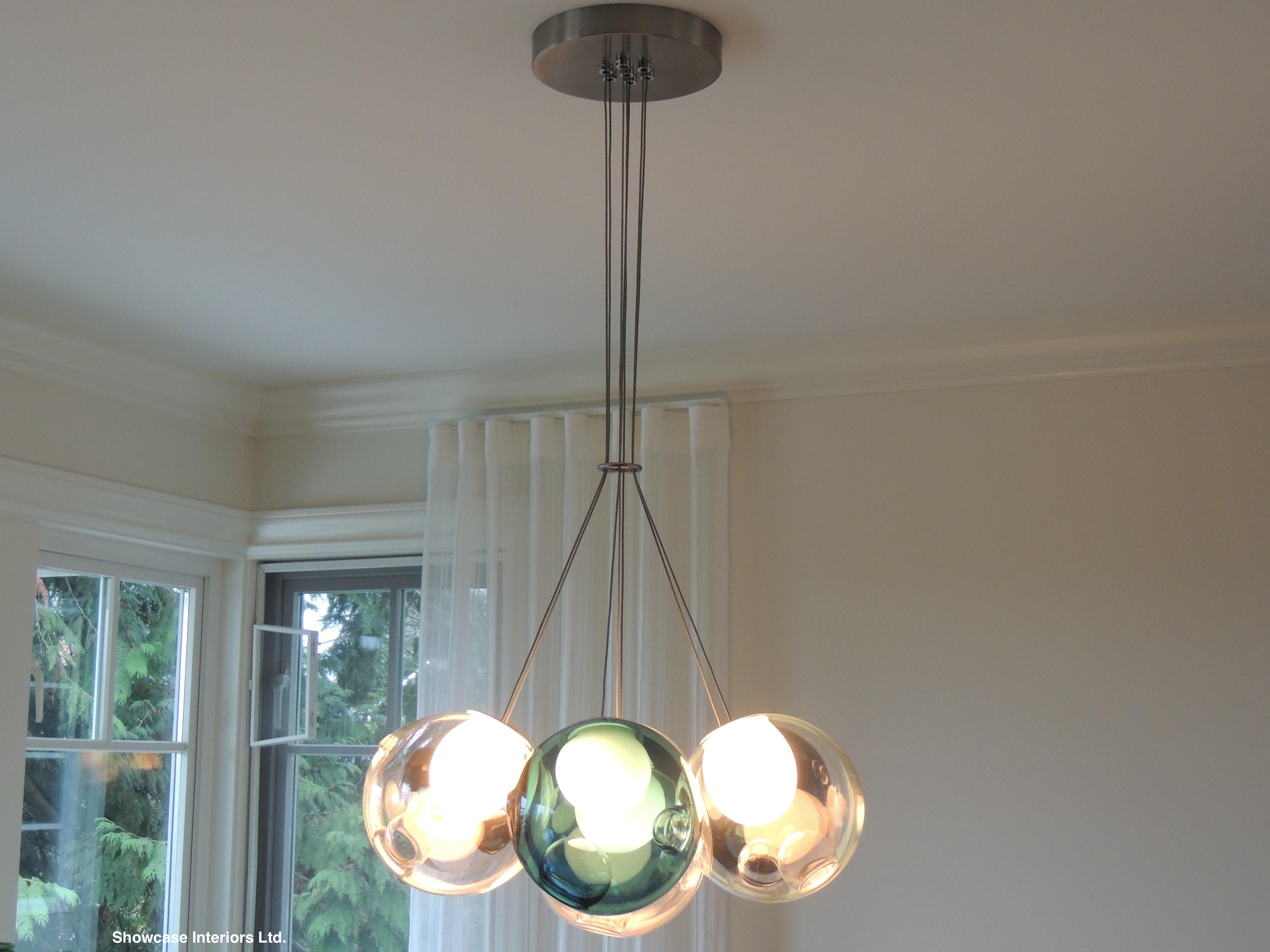 Specialty lighting installations showcase interiors ltd